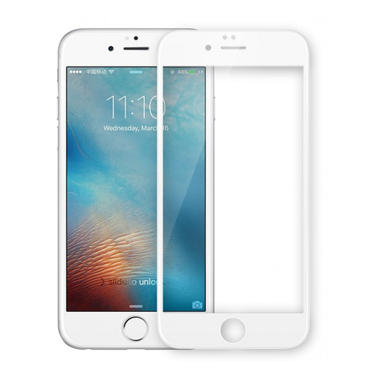 ეკრანის დამცავი ADPO 3D TEMPERED GLASS SCREEN PROTECTOR FOR IPHONE 6 - WHITE