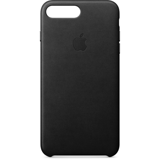 ქეისი Apple iPhone 8 Plus/7 Plus Leather Case (Black) MQHM2ZM/A