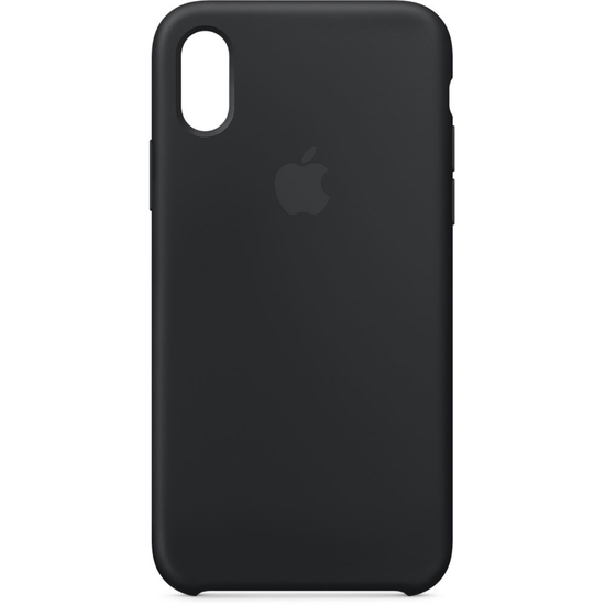 ქეისი Apple iPhone X Silicone Case (Black) MQT12ZM/A